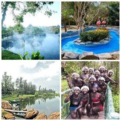 Tour suối nước nóng Bình Châu