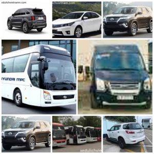 Dịch vụ thuê xe du lịch Đà Lạt