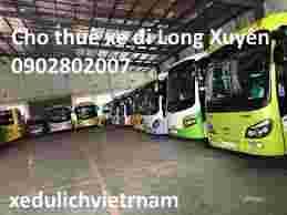 Thuê xe du lịch Long Xuyên